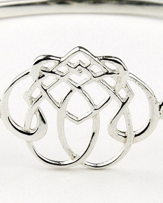 Celtic Design Sterling Silver Bracelet
