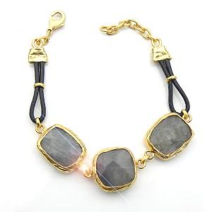 Labradorite Stone Bracelet