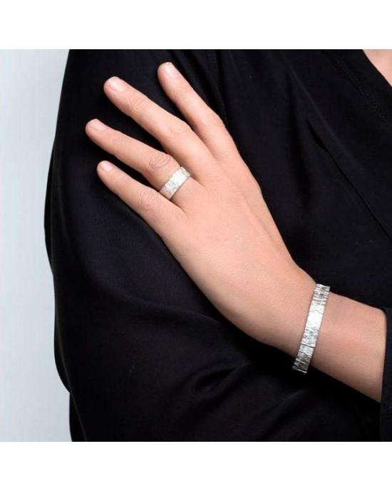 Silver Interlinked TUTTU Bracelet - BRACELETS & BANGLES
