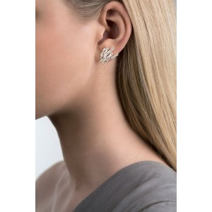 Cygnus Silver Stud Earrings