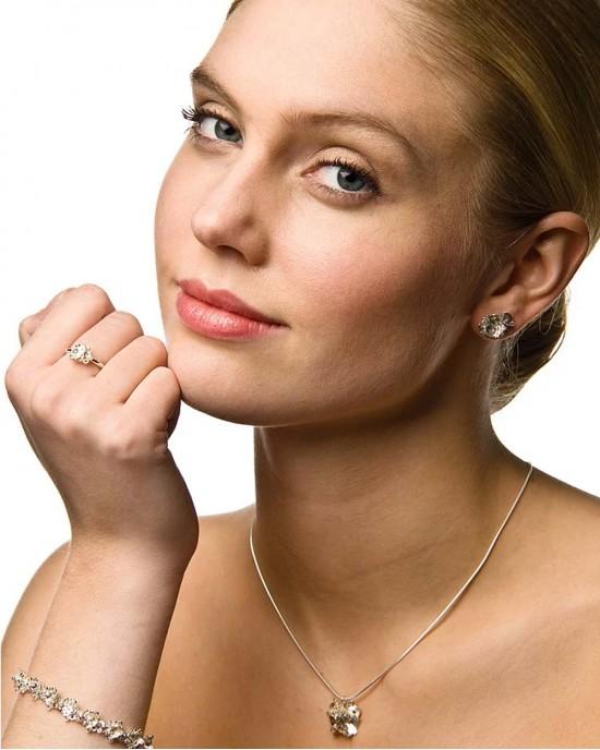 Agla Silver Earrings