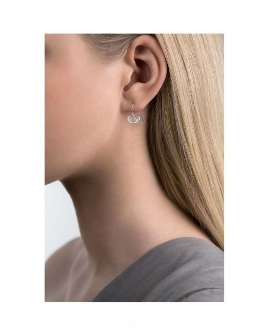 Silver Hook Earrings, ERIKA - EARRINGS