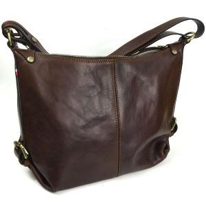 Italian Leather Hobo Shoulder Bag