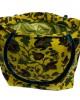 Floral Brushed Cotton Tote, Shoulder Bag - HANDBAGS