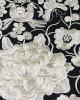 Gold Flower Embroidered Cotton Shopper - HANDBAGS