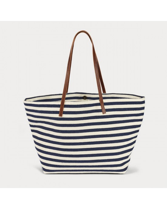 Marina Shoulder Bag, Navy - HANDBAGS