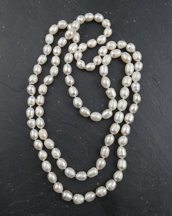 Double Freshwater Pearl Necklace