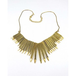 Point Metal Necklace