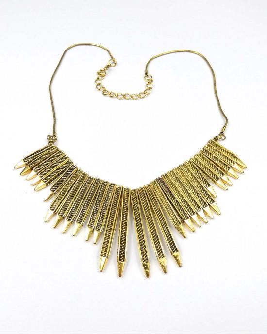 Point Metal Necklace - NECKLACES & PENDANTS