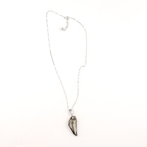 Sterling Silver Swarovski Crystal Glass Pendant
