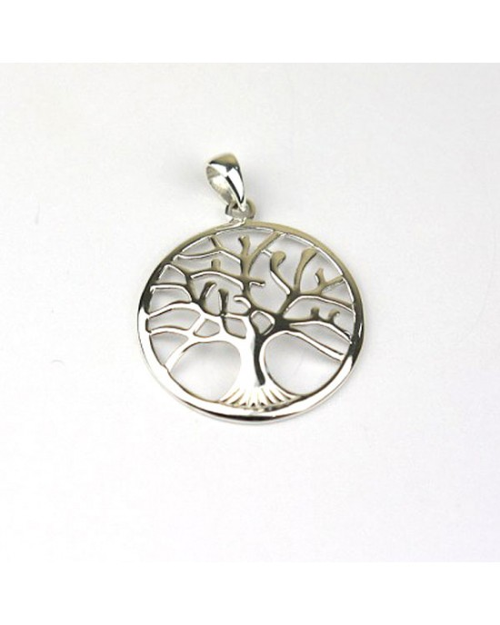 Silver Tree Pendant - NECKLACES & PENDANTS