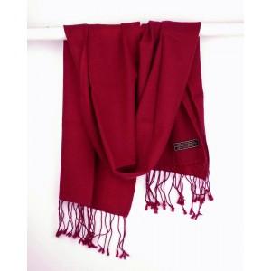 Cashmere Scarf, Crimson Red
