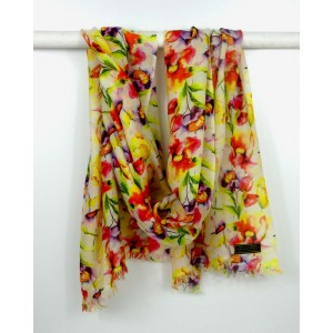 Cashmere Floral Scarf