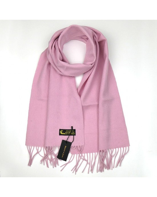 Cashmere Scarf in Baby Pink - WOOL & CASHMERE SCARVES