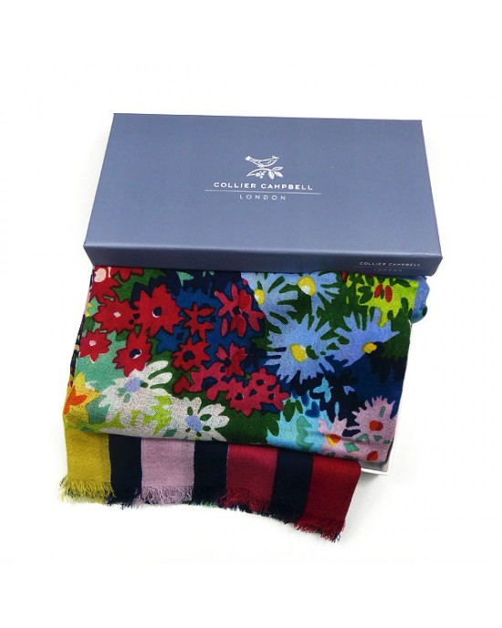 Collier Campbell Wool Scarf Floresta - WOOL & CASHMERE SCARVES