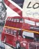 Cream Long Scarf London Scenes - SCARVES, SHAWLS, PASHMINAS