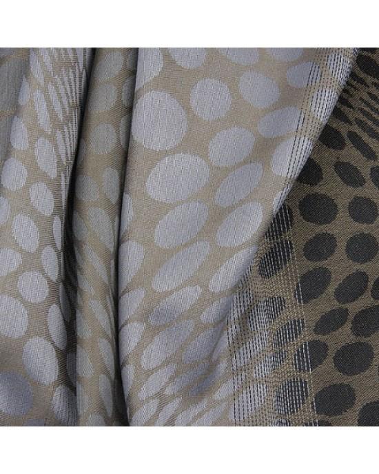Grey Spot Print Scarf - SCARVES, SHAWLS, PASHMINAS