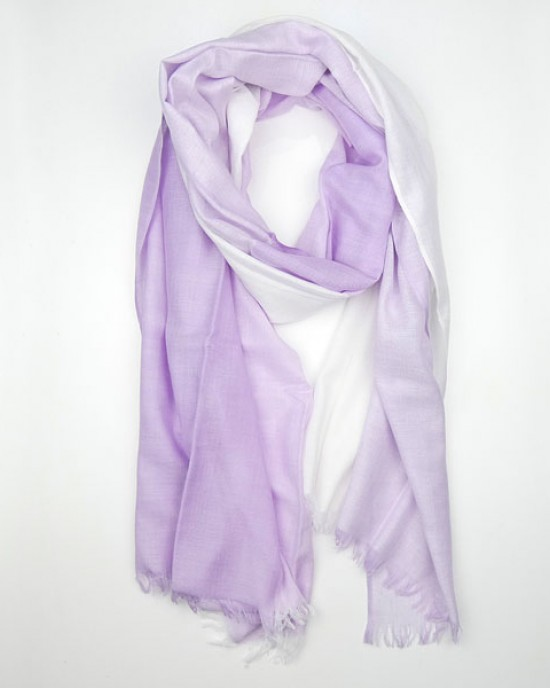Lilac Summer Pashmina Shawl