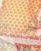 Orange Chiffon Spot Scarf - SCARVES, SHAWLS, PASHMINAS
