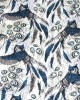Owl Feather Print Tasselled Scarf - SCARVES, SHAWLS, PASHMINAS