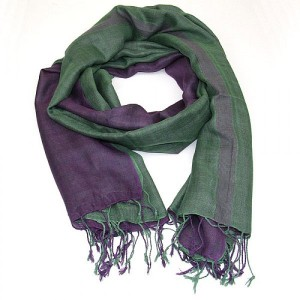 Double Layer Cotton Viscose Scarf-Shawl