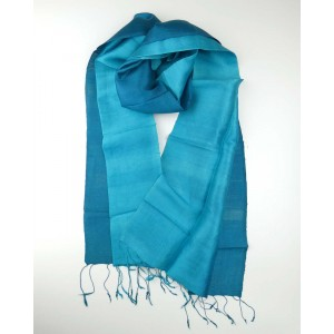 Silk Scarf - Teal