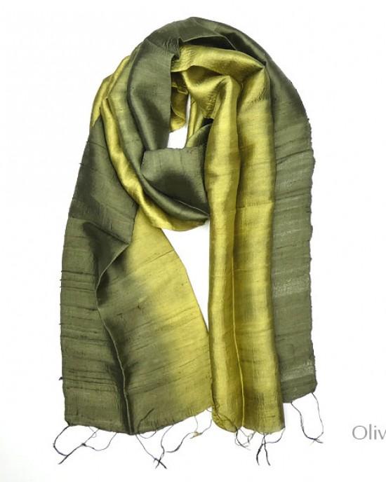 Thai Raw Silk Scarves