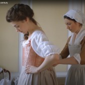 Getting Dressed in the 18th Cent.